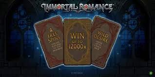 Immortal Romance Slot Bonus
